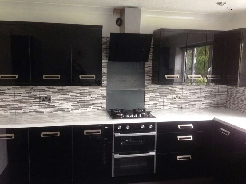 Grout Clean and colour in Beverly After
