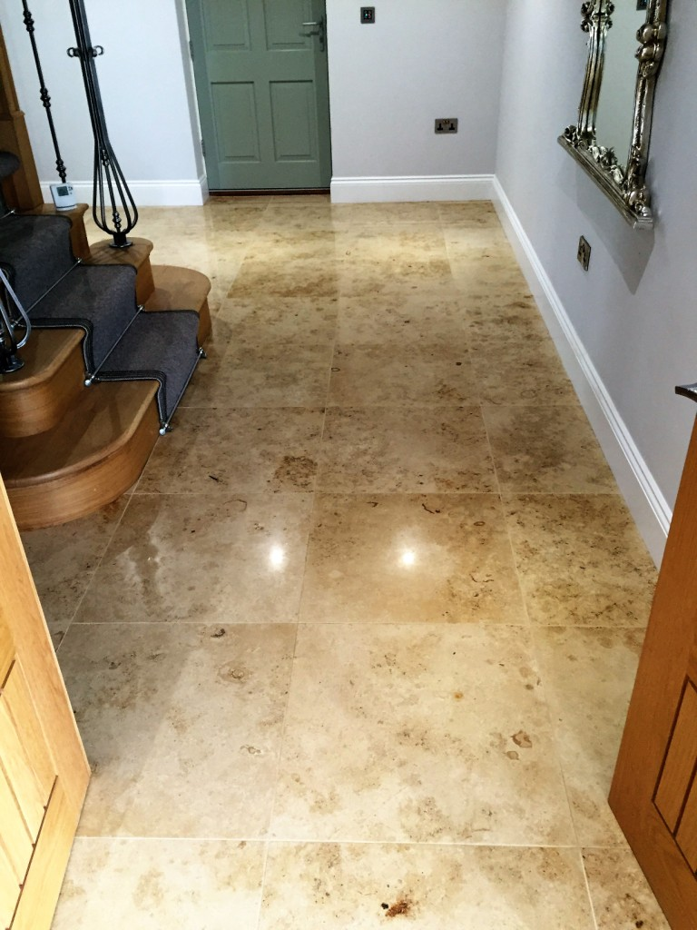 Marble Floor After Repolishing North Ferriby