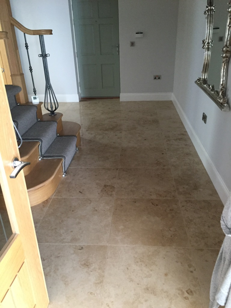 Marble Floor Before Repolishing North Ferriby Marble Floor Before Repolishing North Ferriby