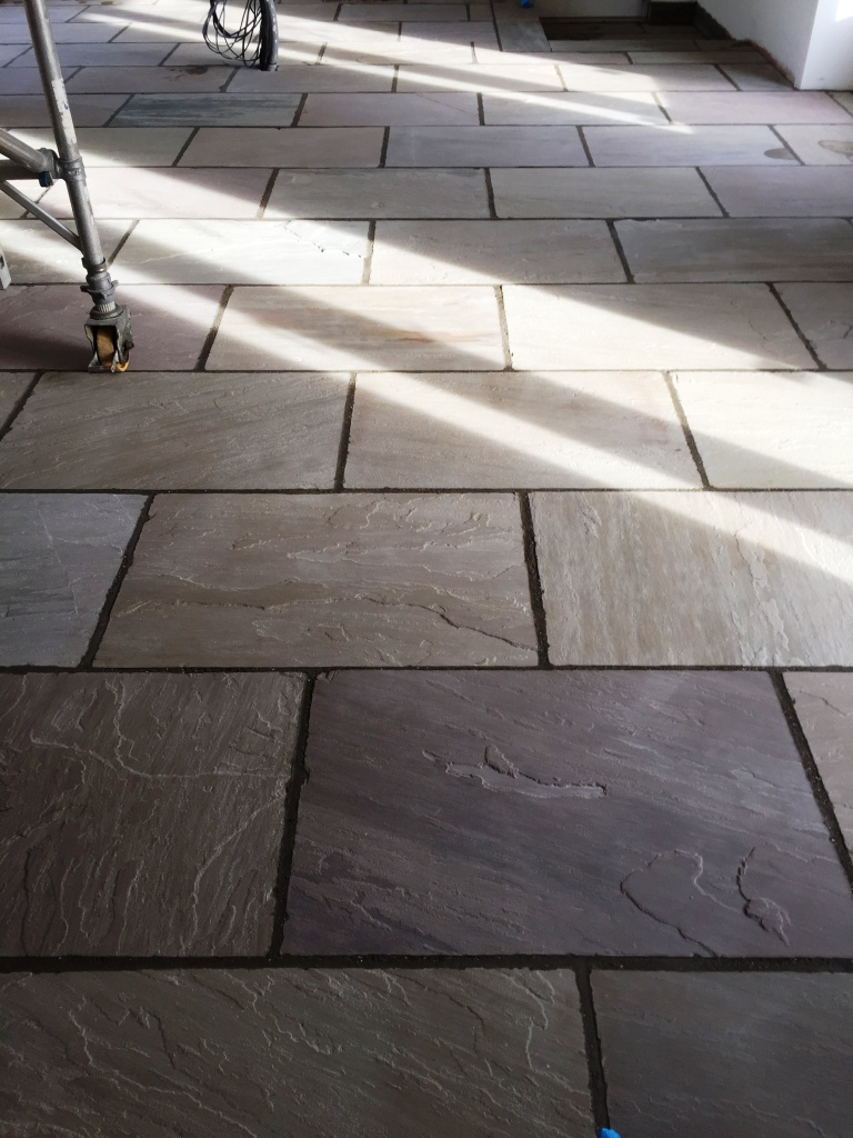 Yorkshire Stone Floor After Deep Cleaning Driffield