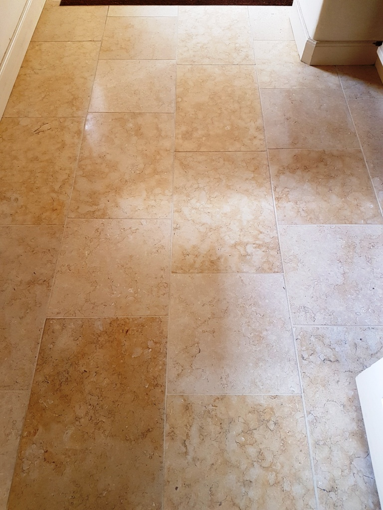 Renovating Jerusalem Limestone Kitchen Tiles in York