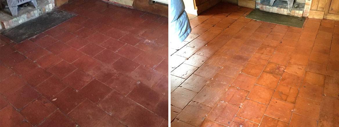 100+ Year Old Quarry Tiles Revitalised in Market Weighton